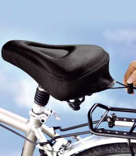Sykkelsetetrekk gele